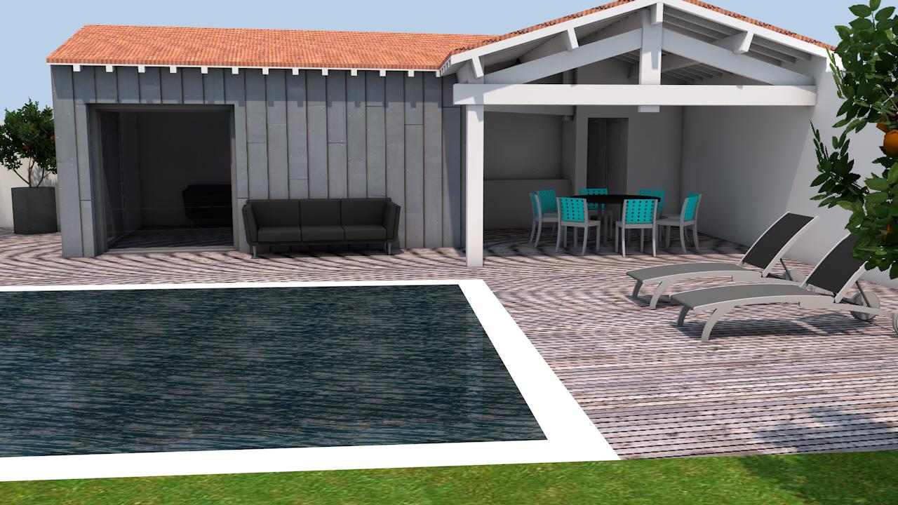 Aménagement Bord De Piscine aménagement en bord de piscine   archib